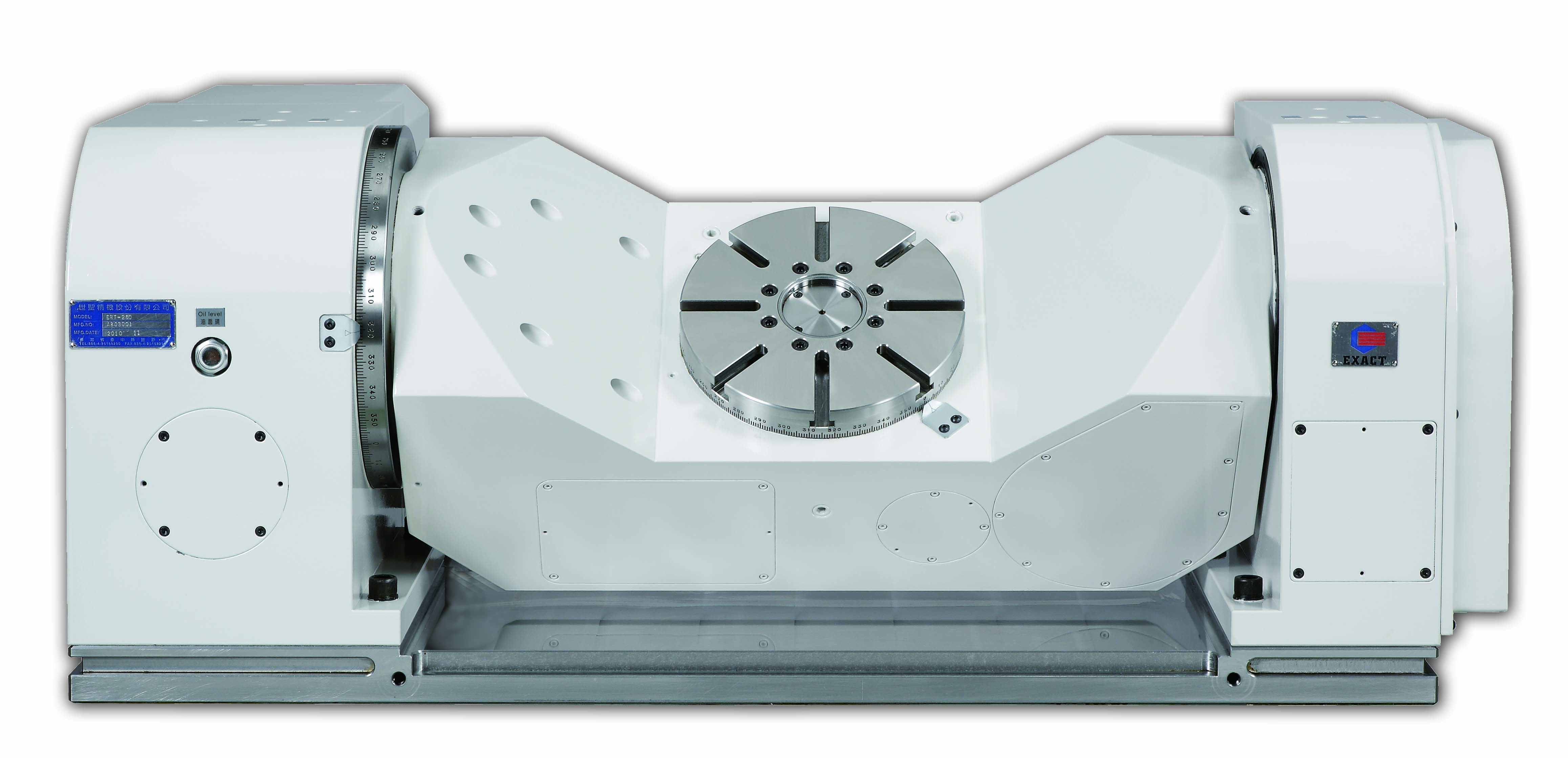 4º e 5º eixo CNC modelo ERT-250