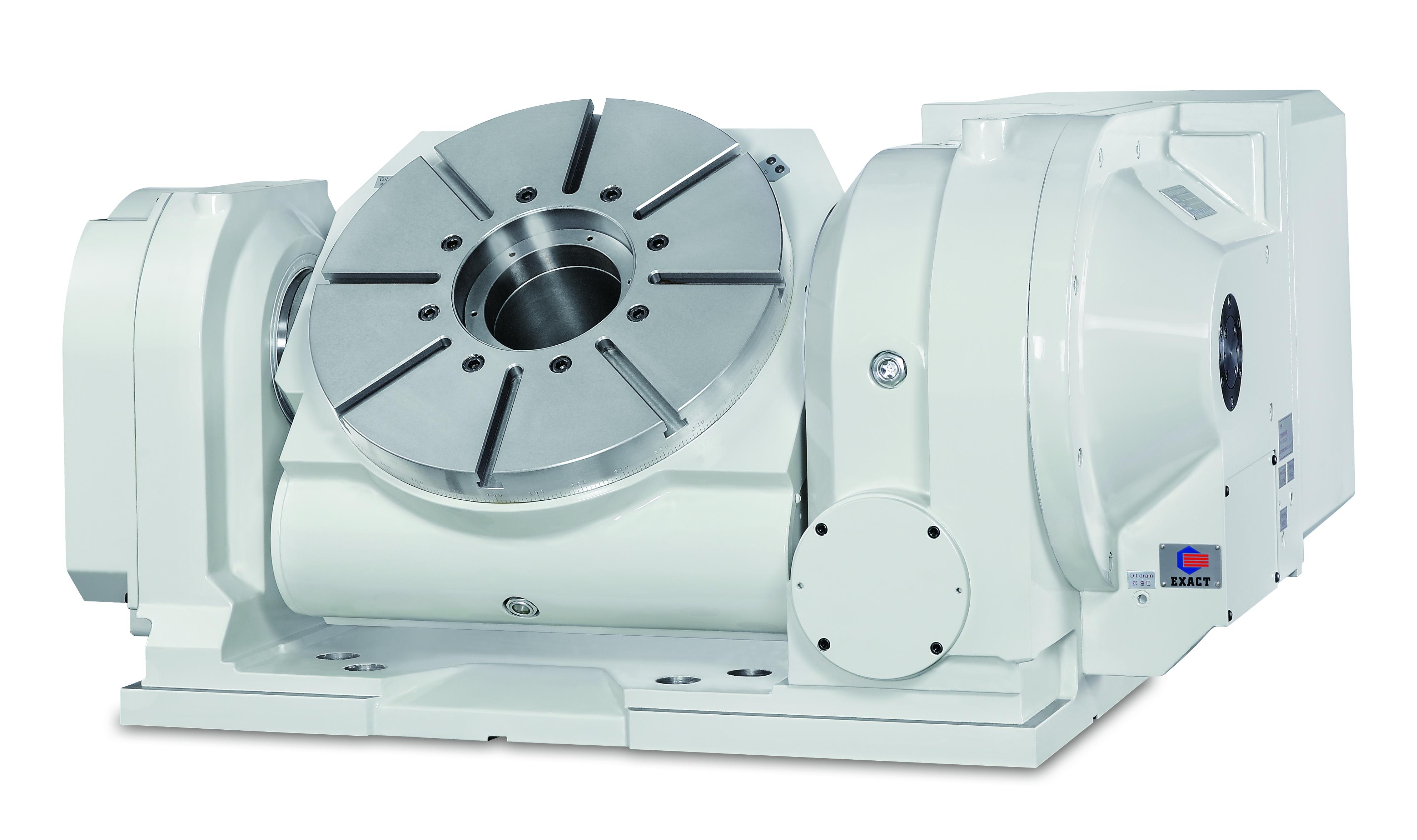 4º e 5º eixo CNC modelo TRT-450